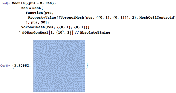 Using MeshCellCentroid function