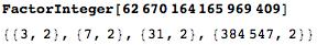 Prime factorization of the denominator tells us that it is periodic