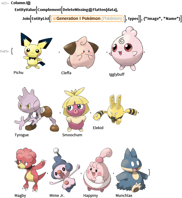 A preview glimpse of newer-generation Pokémon