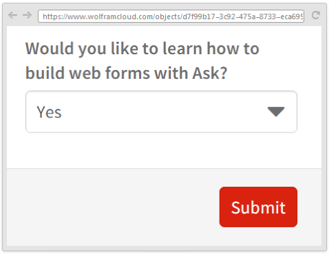 Would you like to learn how to build web forms with Ask?
