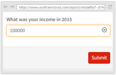 What was your income in 2015?