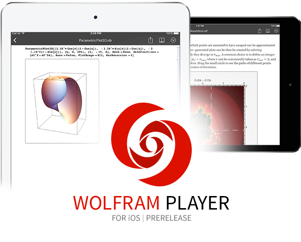 Wolfram Player for iOS logo