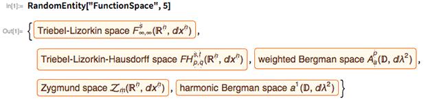 "RandomEntity[""FunctionSpace"", 5]"