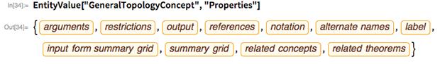 "EntityValue[""GeneralTopologyConcept"", ""Properties""]"