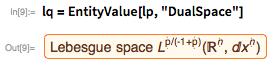 """lq = EntityValue[lp, """"DualSpace""""]"""