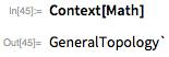Context[Math]