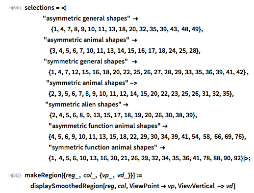 """selections = <