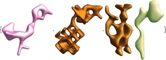 assymetric functional animal shapes 2
