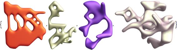 assymetric functional animal shapes 5