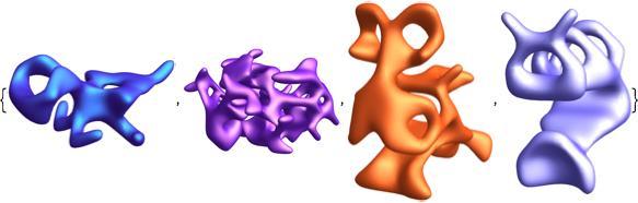 symmetric alien shapes 1