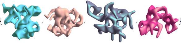 symmetric alien shapes 2