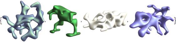 symmetric alien shapes 3