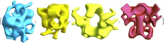 symmetric alien shapes 4