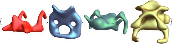 symmetric animal shapes 4