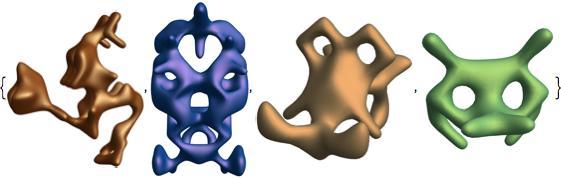 symmetric animal shapes 5