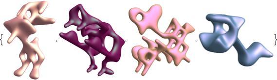 symmetric function animal shapes 2