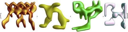 symmetric function animal shapes 4