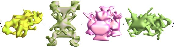 symmetric function animal shapes 5
