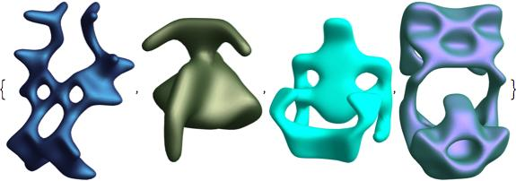 symmetric general shapes 2