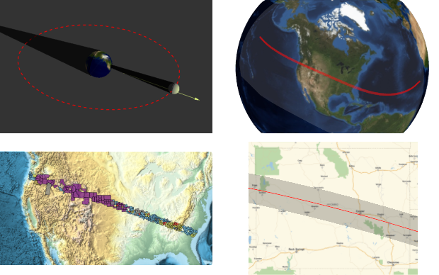Eclipse illustrations with the Wolfram Language