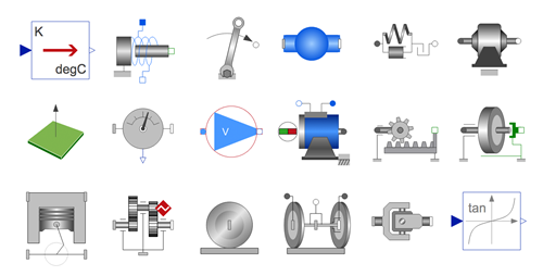 SystemModeler icons