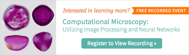 Computational microscopy webinar