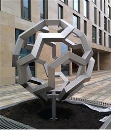 Math concept sculpture