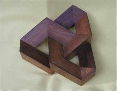 Rhombus sculpture