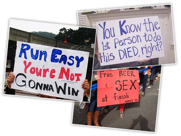 https://bestracesigns.wordpress.com/2012/08/09/run-easy/ http://www.funnyclone.com/24-funny-marathon-signs-that-almost-make-running-worth-it/ pic 9 of 25 on http://running.competitor.com/2015/10/photos/25-marathon-spectator-signs-we-love_136577