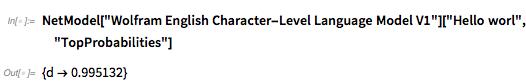 Wolfram English Character-Level Language Model V1