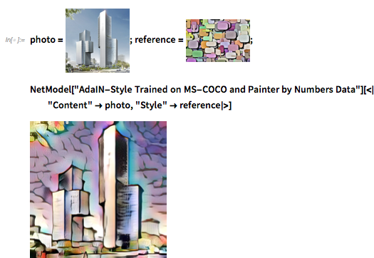 AdaIN-Style Trained on MS-COCO and Painter by Numbers Data