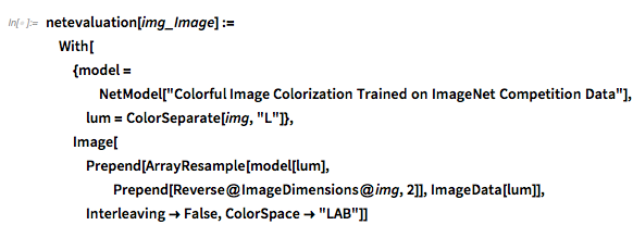 Colorful Image Colorization Trained on ImageNet Competition Data