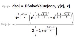 dsol = DSolveValue