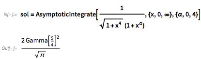 sol=AsymptoticIntegrate