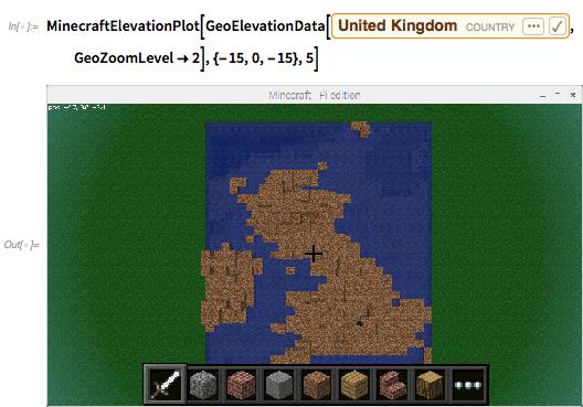 MinecraftElevationPlot