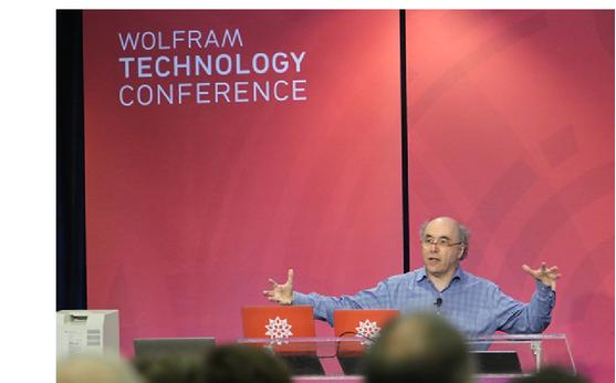 Stephen Wolfram speaking