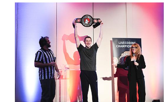 Livecoding championship winner