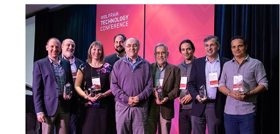 Wolfram Innovator Award winners