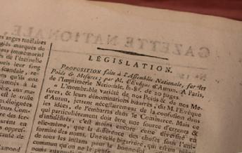 Legislation article, part one