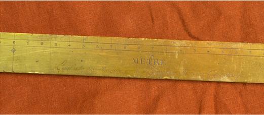 Brass meter from Lenoir