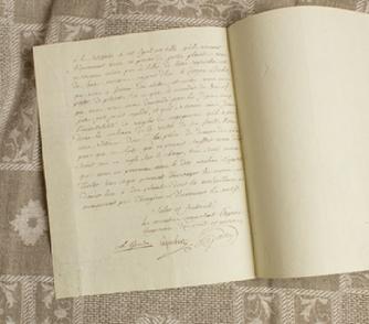 Adrien-Marie Legendre's letter