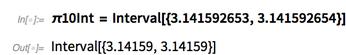 π10Int = Interval