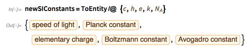 newSIConstants=ToEntity/@ {c,h,e,k,Subscript