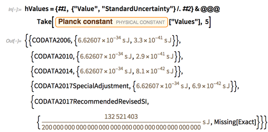 "hValues={#1, {""Value"",""StandardUncertainty""}/.#2}&@@@Take"