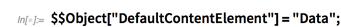 """$$Object[""""DefaultContentElement""""]"""
