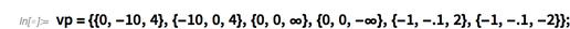 vp={{0,-10,4},{-10,0,4},{0,0,∞},{0,0,-∞},{-1,-.1,2},{-1,-.1,-2}};