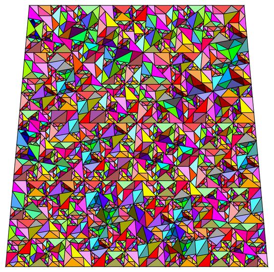The sqrt(χ) substitution tiling fractal