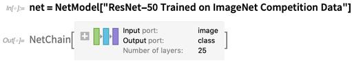"""net = NetModel[""""ResNet-50 Trained on ImageNet Competition Data""""]"""
