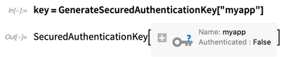 key = GenerateSecuredAuthenticationKey