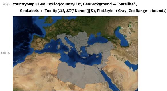 countryMap = GeoListPlot